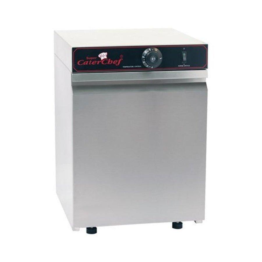 armoire chauffante pour 30 assiettes - 400W - 41x38x(H)52cm