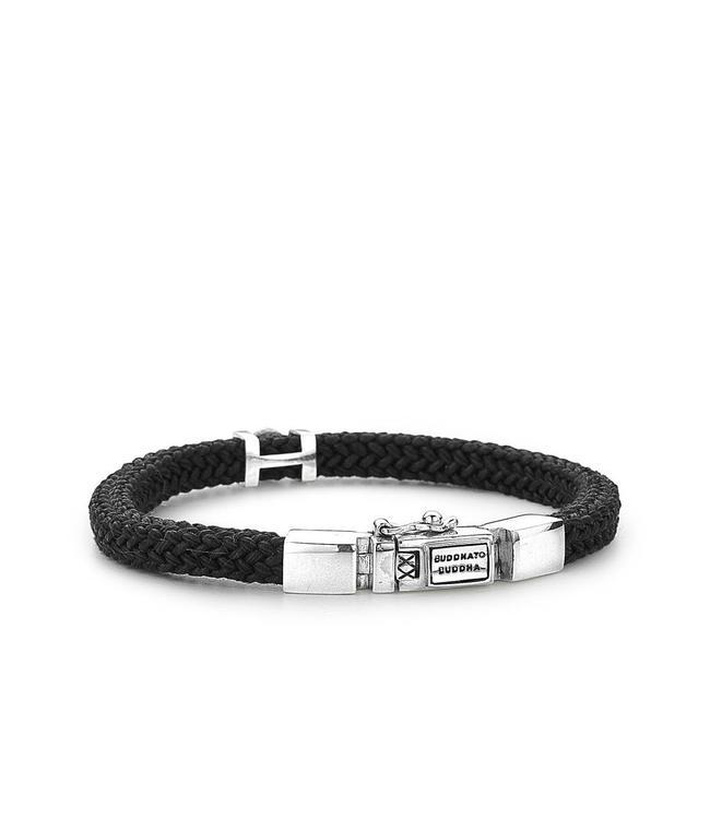 Buddha to Buddha Denise Cord Bracelet Black