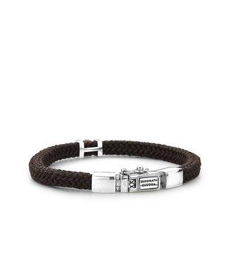 Buddha to Buddha Cord Bracelet Brown