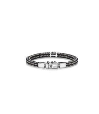 Buddha to Buddha Denise Cord Bracelet Mix Grey