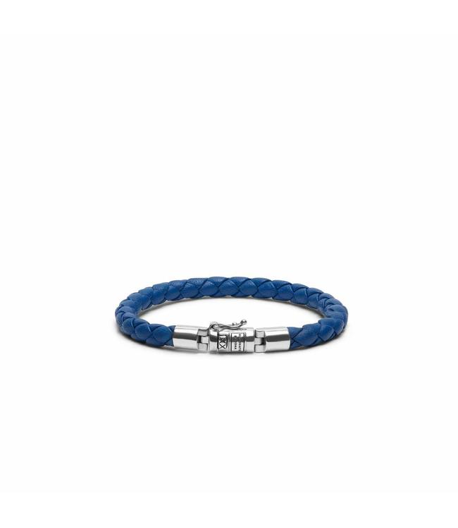 Buddha to Buddha Ben XS Round Leather Blue