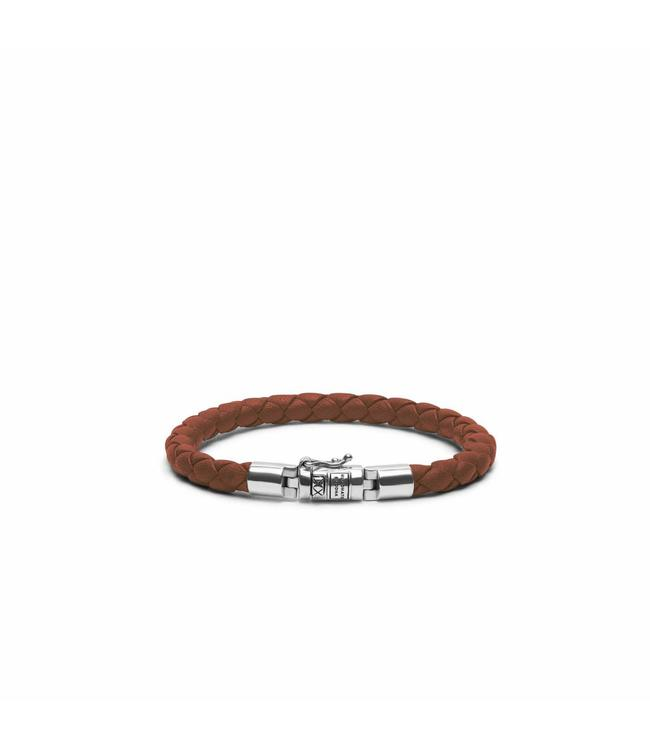 Buddha to Buddha Ben XS Round Leather Cognac