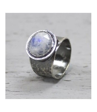 Jeh Jewels Ring zilver + Maansteen 19495