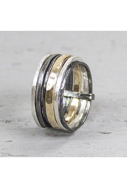 Ring Goldfilled bandjes 19100