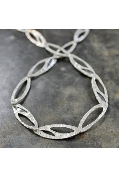 Collier silver white + oxy