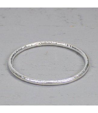Jeh Jewels Rinkelband zilver hamerslag