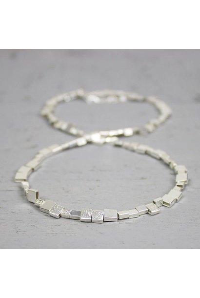 Collier silver 42 cm