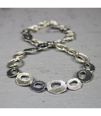 Jeh Jewels Oyx Collier silver / white