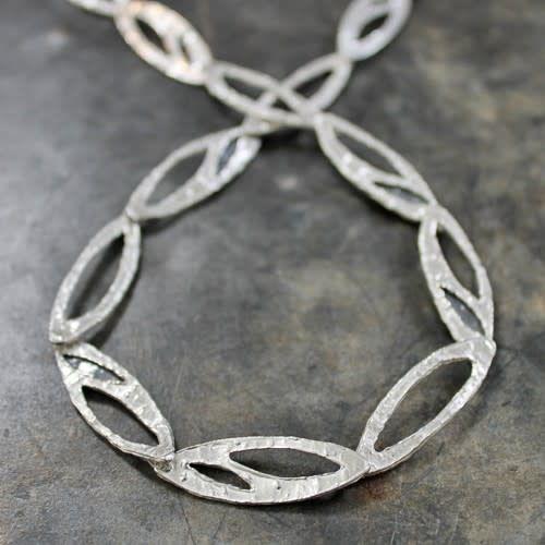 Collier silver white + oxy-2