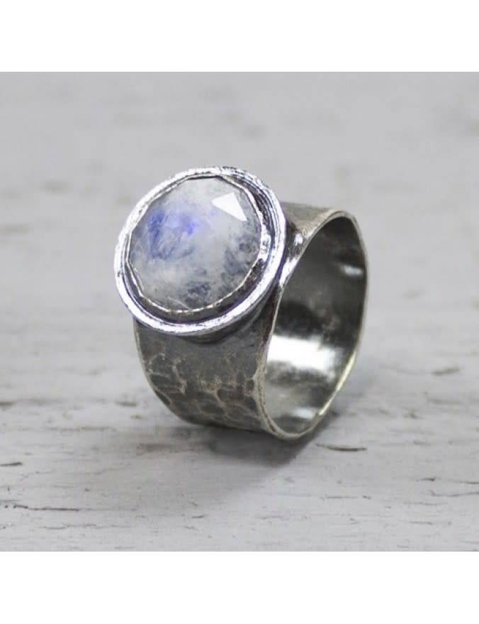 Ring Silver + Moonstone 19495-2