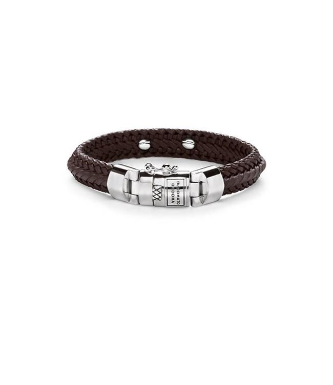 Nurul Small Leather Bracelet Brown
