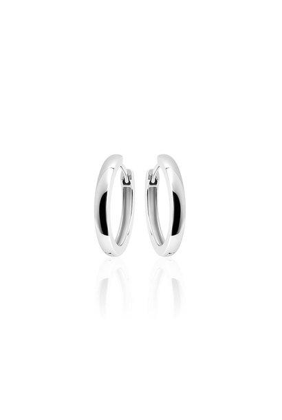 Silver Hoops 3 * 22mm