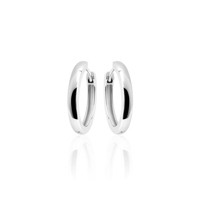 Silver Hoops 3 * 22mm-1