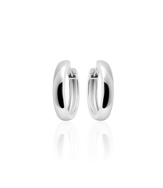 Selection Silver Hoops 4 * 22mm