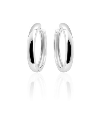 Selection Silver Hoops 4 * 30mm