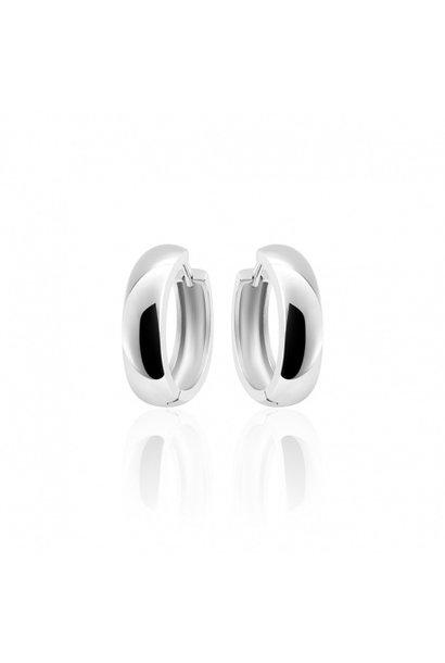 Silver Hoops 5 * 22mm