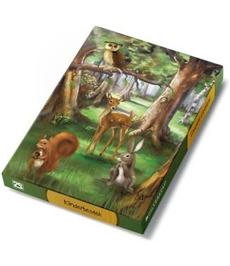 Zilverstad Zilverstad Children's cutlery - Forest animals - Stainless Steel