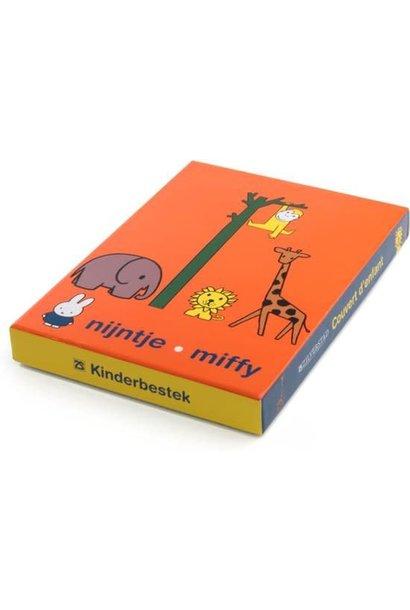 Zilverstad Miffy Children Couvert - Zoo - 4 Parts