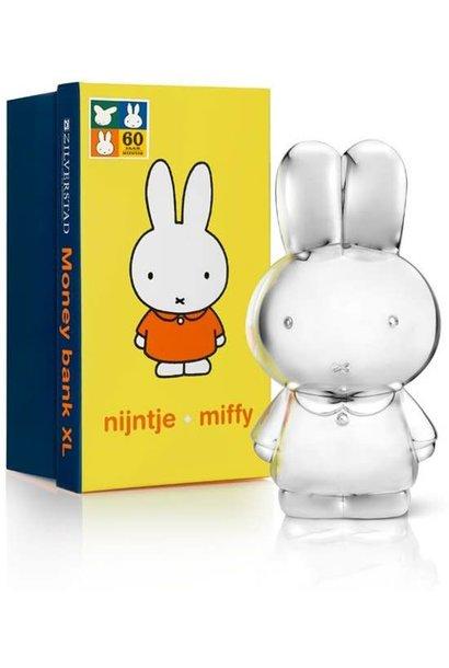 Zilverstad - Moneybox - Miffy XL - Silver