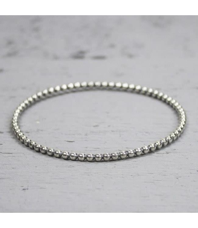 Jéh Collection Rinkelband zilver oxy 3mm