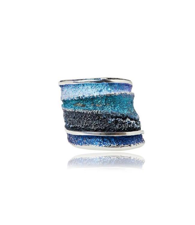 Ring Sinera Blau Formentera