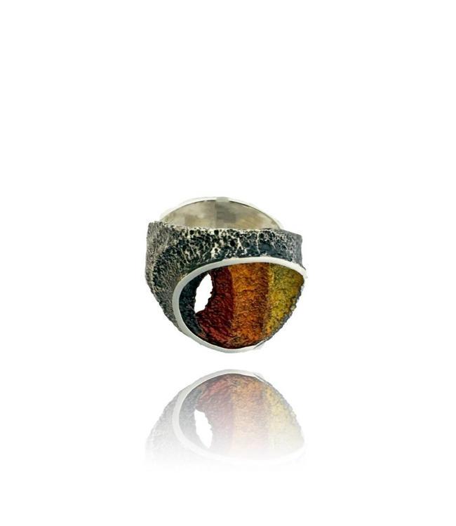 Arior Barcelona Sinera Petit Ocre Bronze Ring