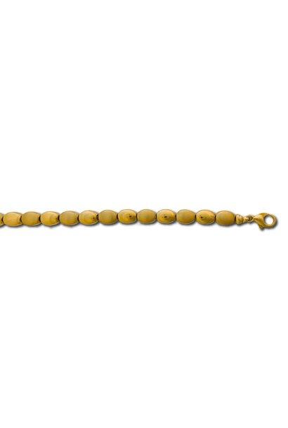 Geel Gouden Armband Fantasie 19 cm