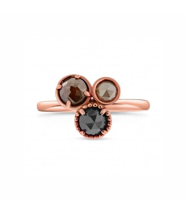Genoeg W. de Vaal W. de Vaal - Ring 14krt Roodgoud. - Juwelier de Vaal #JC44