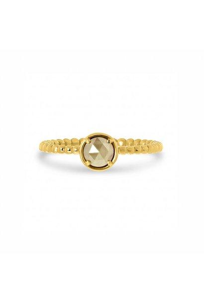 W. de Vaal - Ring 14k Yellow Gold.
