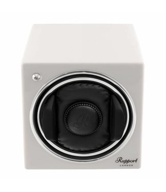 Rapport London Rapport Evolution Evo Cube Watch Winder Glacier White