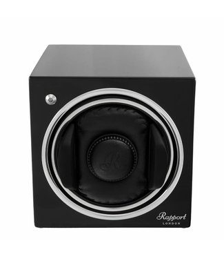 Rapport London Rapport Evolution Evo Cube Watch Winder Midnight Black