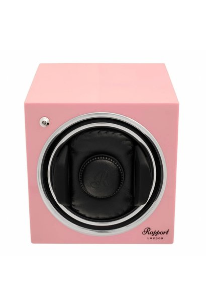 Report Evolution Evo Cube Watch Winder Rose Pink