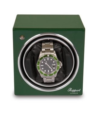 Rapport London Rapport Evolution Evo Cube Watch Winder Green