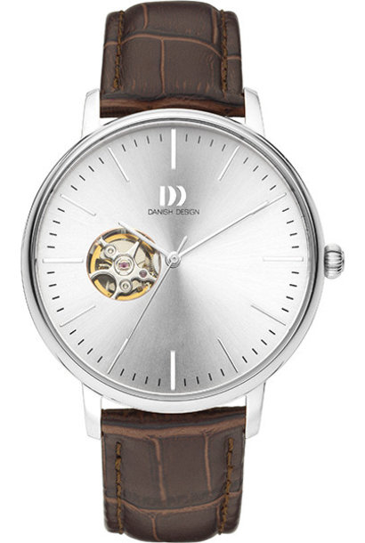 Danish Design Watch Iq12Q1160 Open Heart Automatic Stainless Steel Sapphire