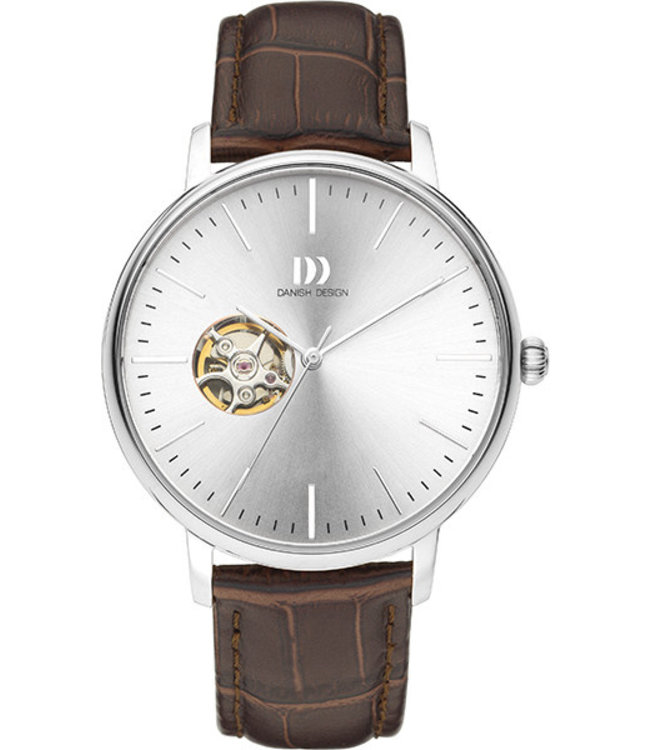 Danish Design Watch Iq12Q1160 Automatic Open Heart Stainless Steel Sapphire