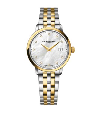 Raymond Weil watches Raymond Weil Toccata 11 Diamonds 5988 -Stp-97081 Netto Netto Speciale Aanbieding,