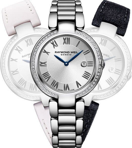 Raymond Weil Shine Repetto 8 Diamonds 1600 -St -Re695-1