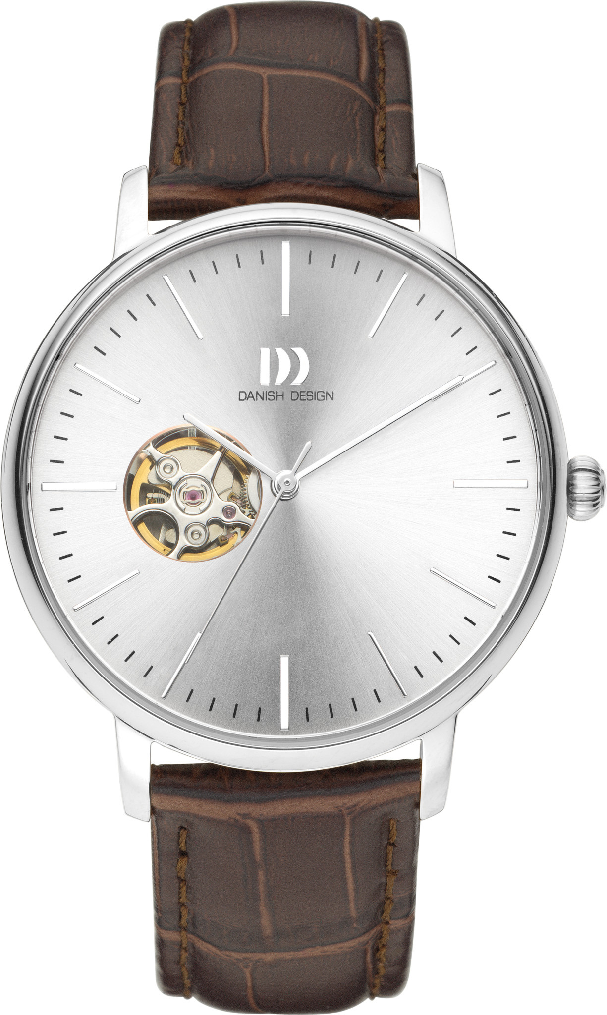Danish Design Watch Iq12Q1160 Open Heart Automatic Stainless Steel Sapphire-2