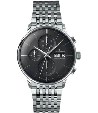 Junghans watches Watch Junghans Meister Chronoscope 027/4324.45 English ,
