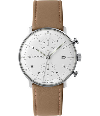 Junghans watches Watch Junghans Max Bill Chronoscope 027/4502.00