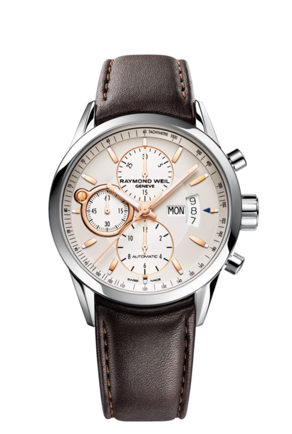 Raymond Weil Freelancer Steel & Rose Gold Class 7730 -Stc-65025.