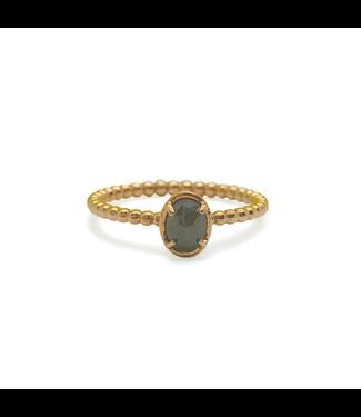 W. de Vaal W. de Vaal - Ring 14k rose gold size 55.