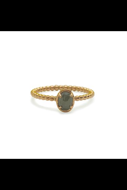 W. de Vaal - Ring 14k rose gold size 55.