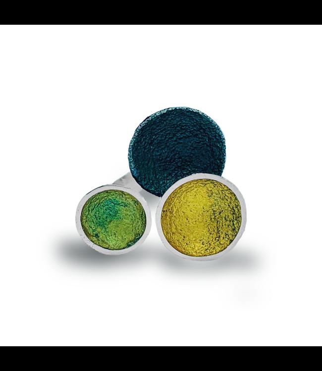 Singular ring groen maat 18