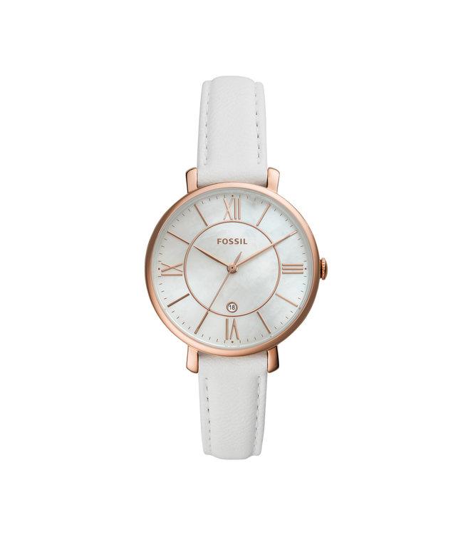 1aecfa15724 Fossil Horloge ES4579 Leer Band - Juwelier de Vaal -Bergambacht