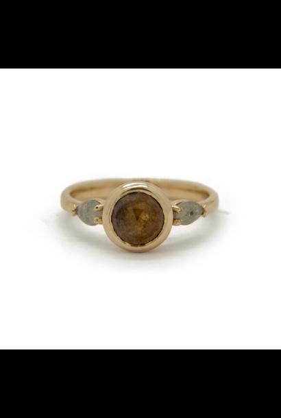 W. de Vaal - 14k Yellow Gold Ring Size 55