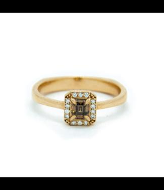 W. de Vaal W. de Vaal - 14k Yellow Gold Ring Size 52
