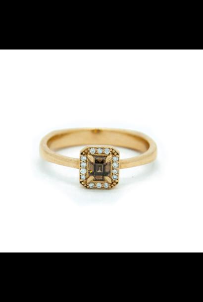W. de Vaal - 14k Yellow Gold Ring Size 52