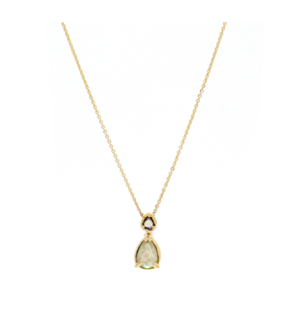 W. de Vaal W. de Vaal - 14k Yellow Gold Necklace.