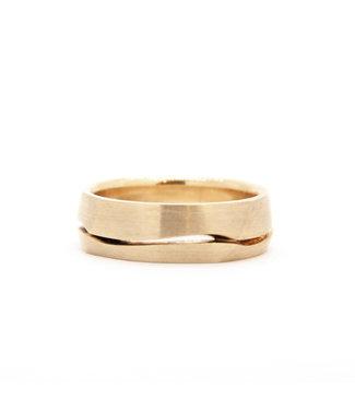 Vincent van Hees 14k Yellow Gold Wedding Ring